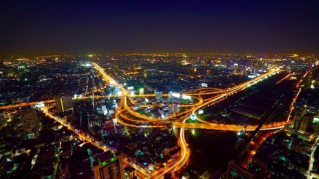 Bangkok arial view