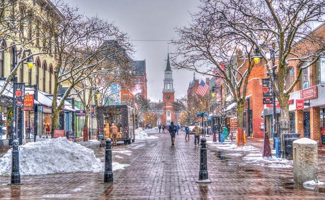Burlington VT street