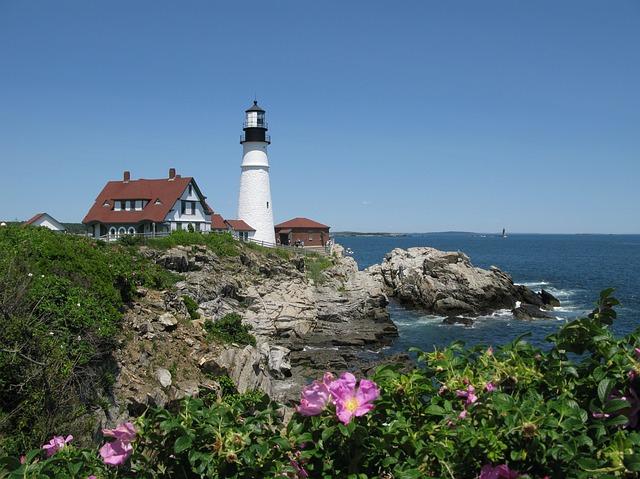 Portland ME lighthouse