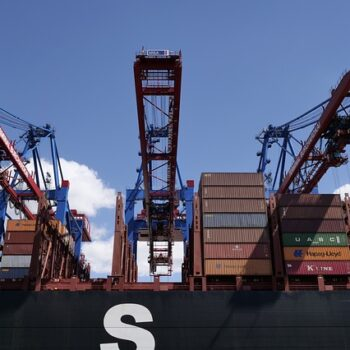 shipping container terminal